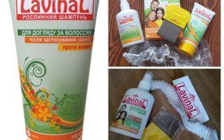 Șampon și spray lavină împotriva păduchilor și nits