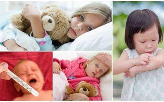 Temperatura mușcăturilor de țânțari la adulți și copii