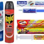 Geluri de insecte și spray-uri