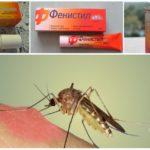 Preparate Fenistil de la mușcături de țânțari